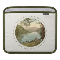 Lake in Kerry Ireland with Irish Blessing Sleeve For iPads at Zazzle