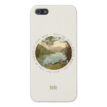 Lake in Kerry Ireland with Irish Blessing iPhone 5 Cover at Zazzle