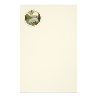 Lake in Kerry Ireland with Irish Blessing Stationery