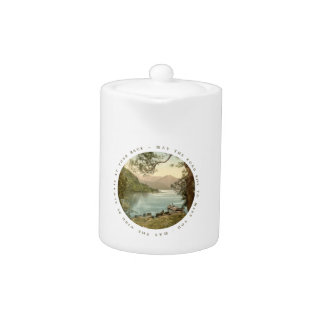 Lake In Kerry Ireland With Irish Blessing Teapot at Zazzle