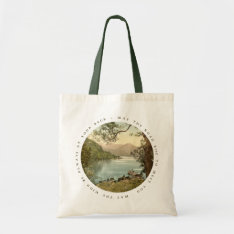 Lake In Kerry Ireland With Irish Proverb Bag at Zazzle