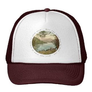 Lake in Kerry Ireland with Irish Proverb Trucker Hat