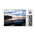 Lake in Maine I Stamps