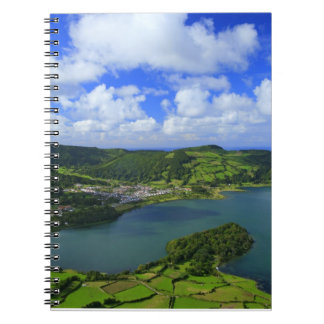 Lake in the Azores Notebook