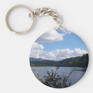 Lake In The City Keychain