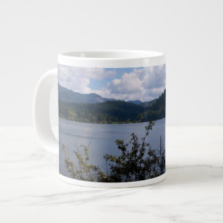 Lake In The City 20 Oz Large Ceramic Coffee Mug