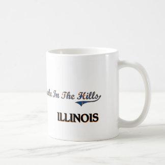 Lake In The Hills Illinois City Classic Classic White Coffee Mug