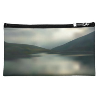 Lake in the mountains cosmetic bag