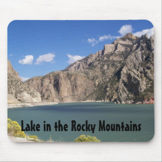 Lake in the Rocky Mountains Mousepads