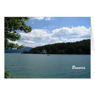 Lake in Upper Bavaria card