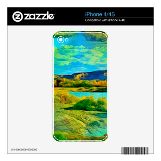 Lake iPhone 4 Skins