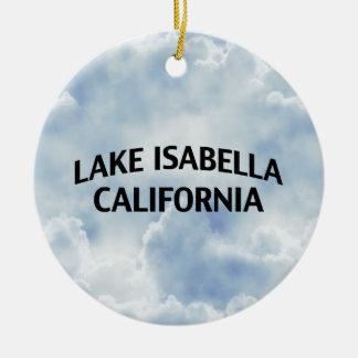 Lake Isabella California Ceramic Ornament