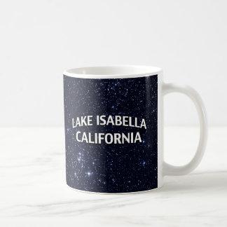 Lake Isabella California Classic White Coffee Mug