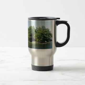 Lake Island 15 Oz Stainless Steel Travel Mug
