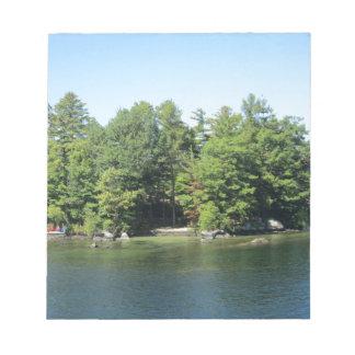 Lake Island Note Pad