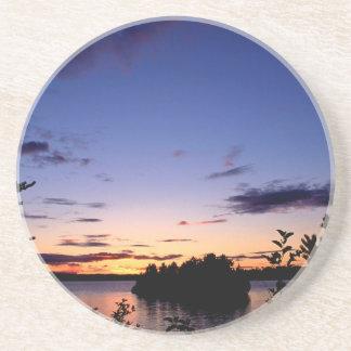 Lake Ivanhoe Provincial Park Ontario Canada Drink Coaster
