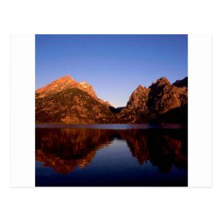 Lake Jenny Grand Teton Park Postcard