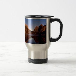 Lake Jenny Grand Teton Park Wyoming Mugs