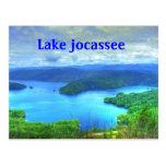 lake jocassee postcard