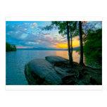 lake jocassee south carolina postcard