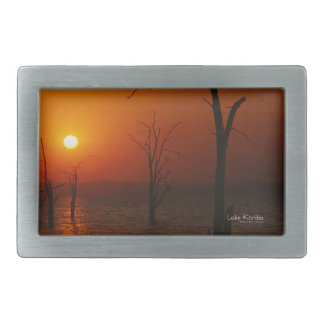 Lake Kariba Belt Buckle