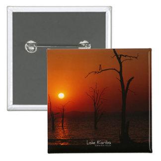 Lake Kariba Sunset Button