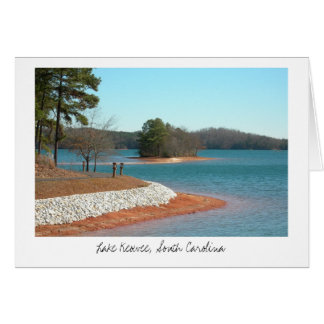 Lake Keowee Walking Trail (Title) Stationery Note Card