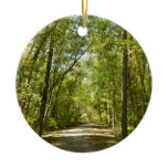 Lake Kittamaquandi Trail in Columbia Maryland Ceramic Ornament