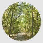 Lake Kittamaquandi Trail in Columbia Maryland Classic Round Sticker