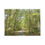 Lake Kittamaquandi Trail in Columbia Maryland Doormat