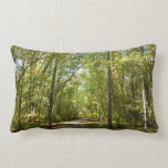 Lake Kittamaquandi Trail in Columbia Maryland Lumbar Pillow