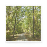 Lake Kittamaquandi Trail in Columbia Maryland Paper Napkin