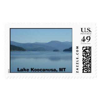Lake Koocanusa, Eureka Montana Stamps
