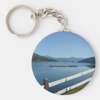 Lake Koocanusa Northwest Montana Keychains