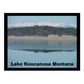Lake Koocanusa Postcard