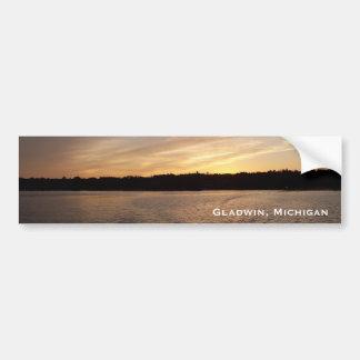 Lake Lancelot Sunset Bumper Sticker Car Bumper Sticker