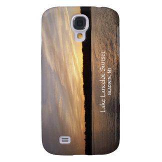 Lake Lancelot Sunset iPhone 3G Case Galaxy S4 Cases