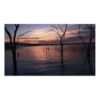 Lake Landscape Business Card