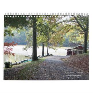 Lake Lanier Calendar 2009 by Angela Clay