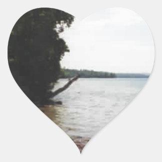 Lake Leelanau, MI Heart Sticker