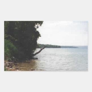 Lake Leelanau, MI Rectangular Sticker