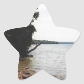 Lake Leelanau, MI Star Sticker