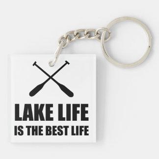 Lake Life Best Life Keychain