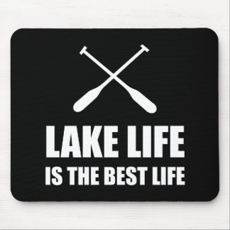 Lake Life Best Life Mouse Pad