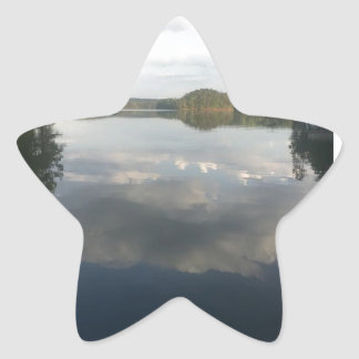 Lake Life in Wedowee Star Sticker