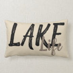 "LAKE LIFE LUMBAR PILLOW<br><div class=""desc"">#lakelife</div>"
