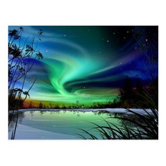 Lake Lights Postcard