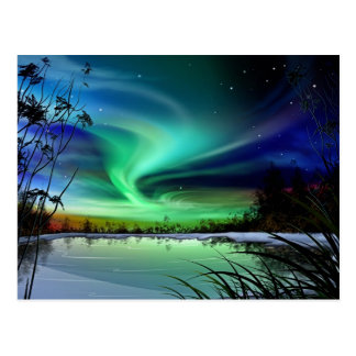 Lake Lights Post Card