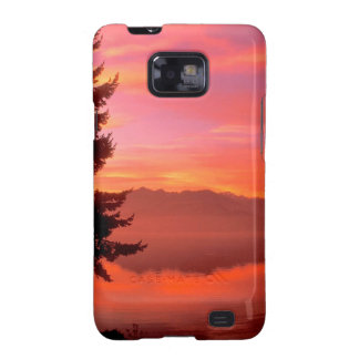 Lake Living Waters Hood Canal Samsung Galaxy S2 Cover