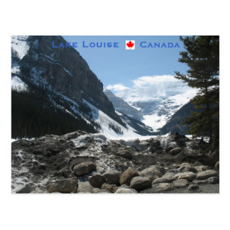 Lake Louise Alberta Canada Post Card